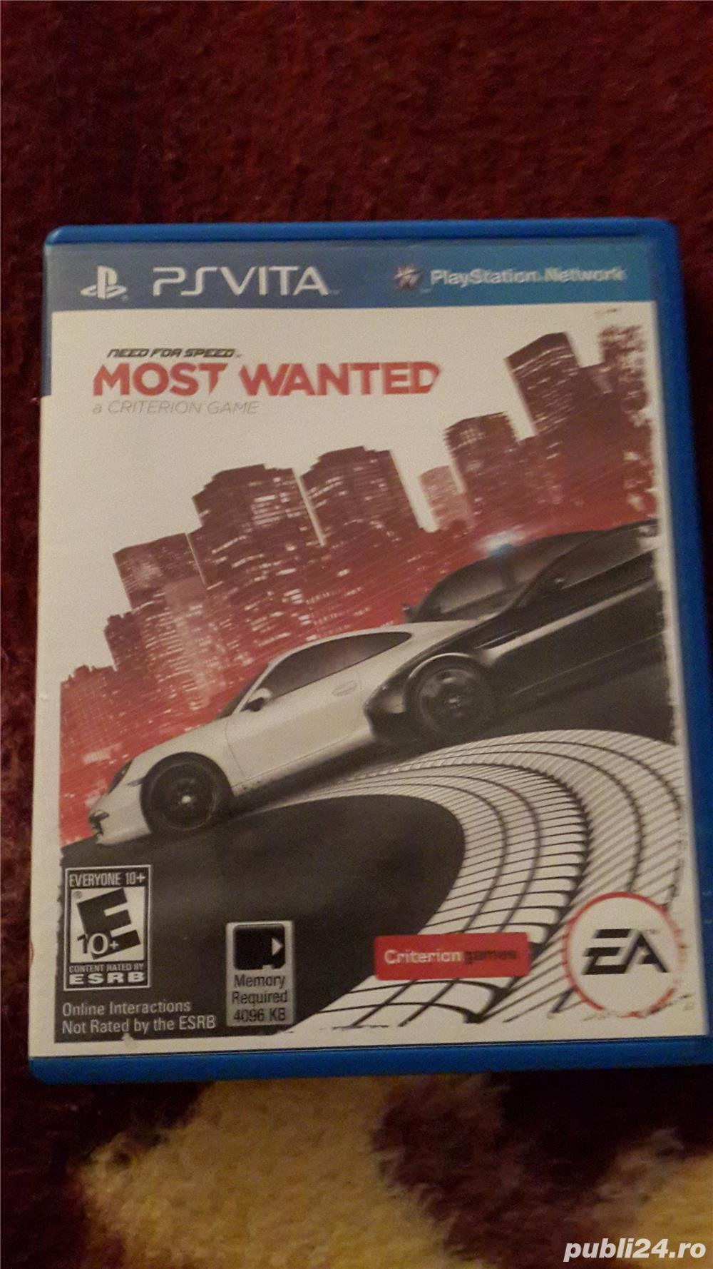 Joc PS VITA need for speed -most wanted