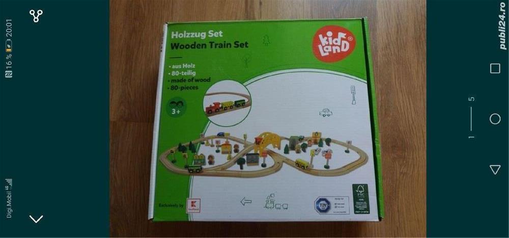 Trenuleț sine lemn
