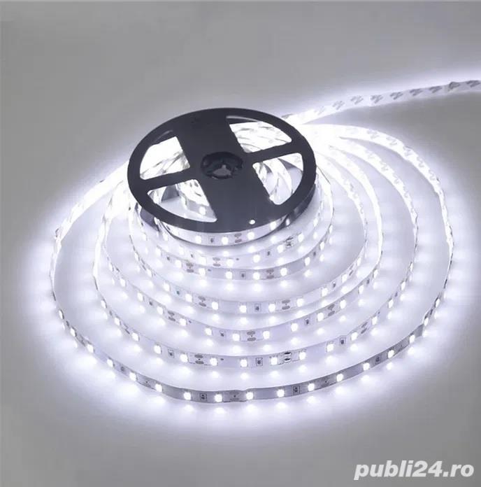 Banda LED alb rece