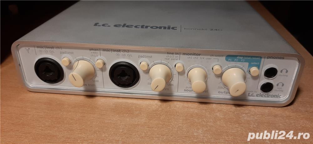 Placa audio externa TC Electronic KONNEKT 24D