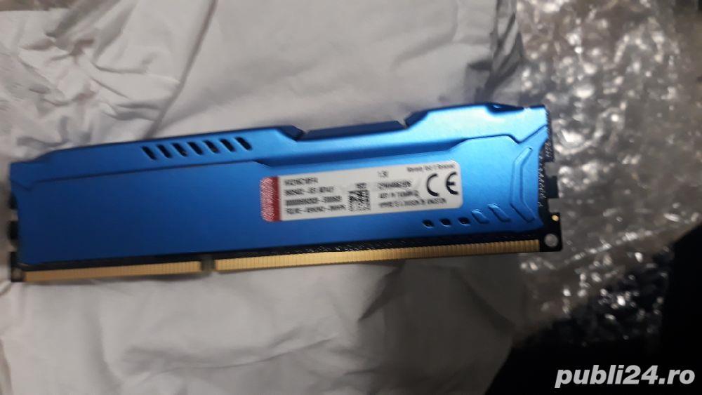 Plăcuță RAM 4 GB DDR3 HyperX 1600 MHZ