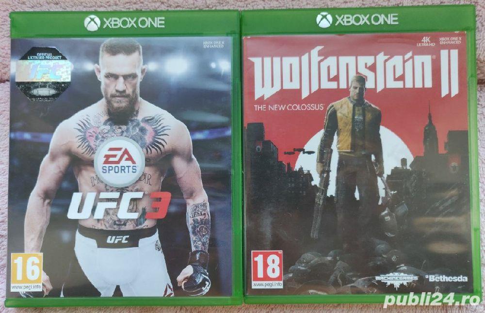 Jocuri Xbox One, UFC 3 și Wolfenstein 2