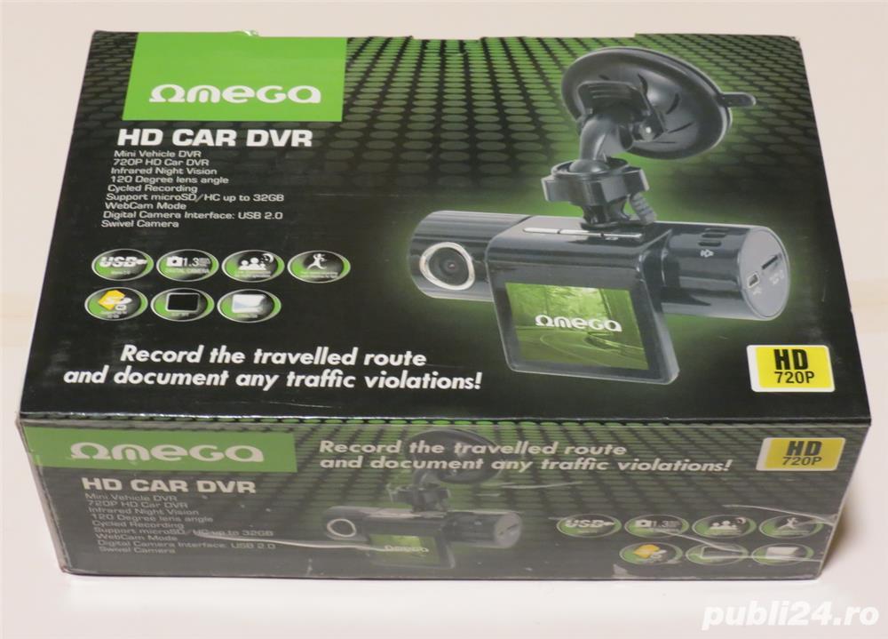Camera video auto HD DVR OMEGA
