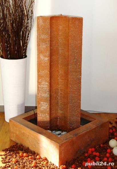 Fântână arteziană Corado, cu bazin și pompă de recirculare apa