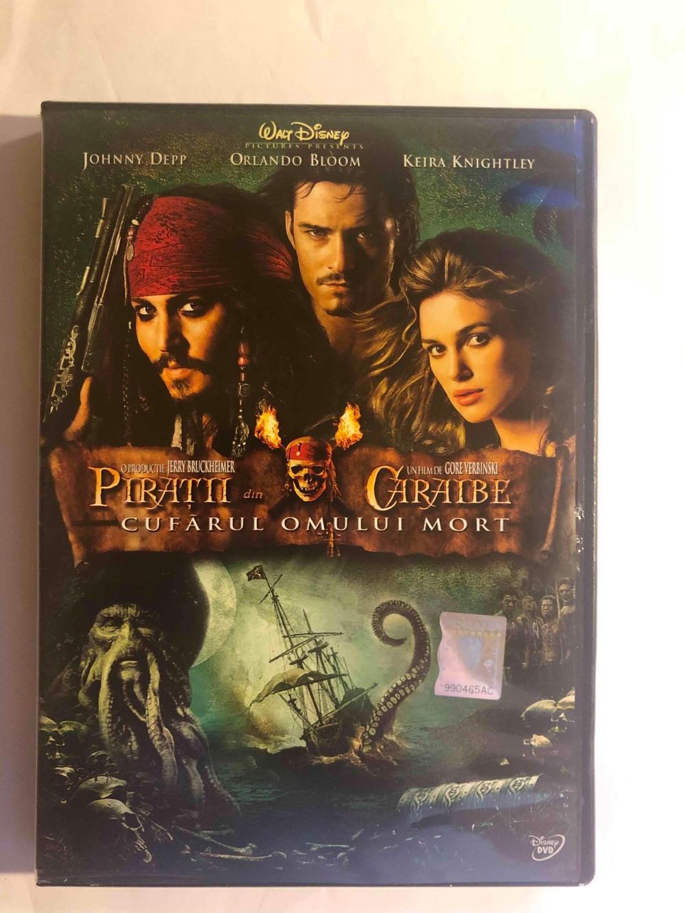 DVD Piratii din Caraibe (Pirates of the Carribean)