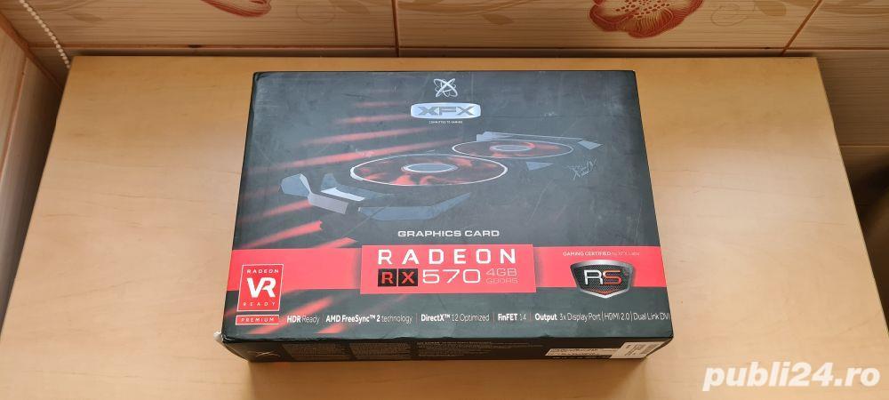 Placa Video XFX RX Radeon 570 RS 4GB GDDR5, 256Bit__SIGILATA / NOUA__