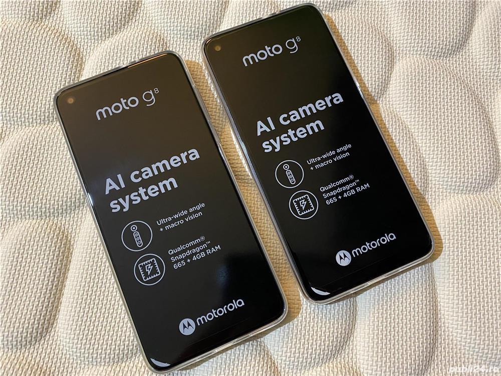 """Motorola Moto G8 Display 6,4"""", Ram 4Gb, Memorie 64Gb"""