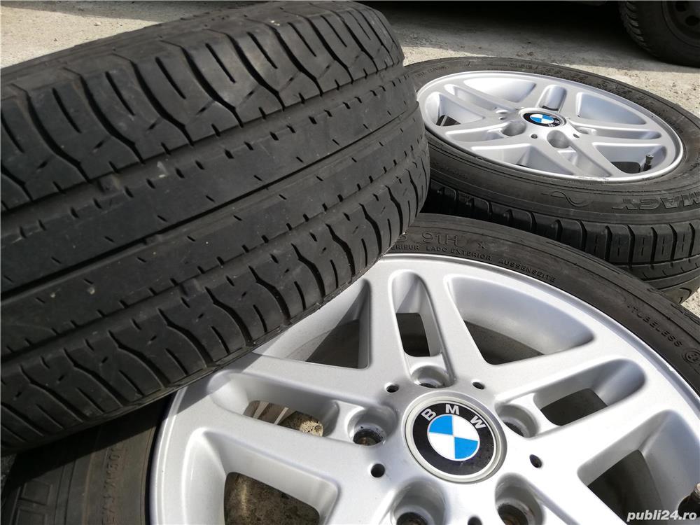 Roti BMW originale R15 style 53 e36 e46 e90 e80 e81 5x120 Jante aliaj  aluminiu