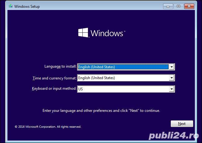 Instalez Windows 10 cu licenta