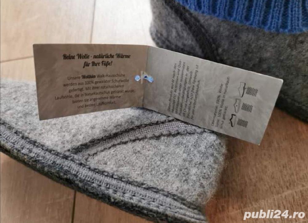Papuci de interior din lana