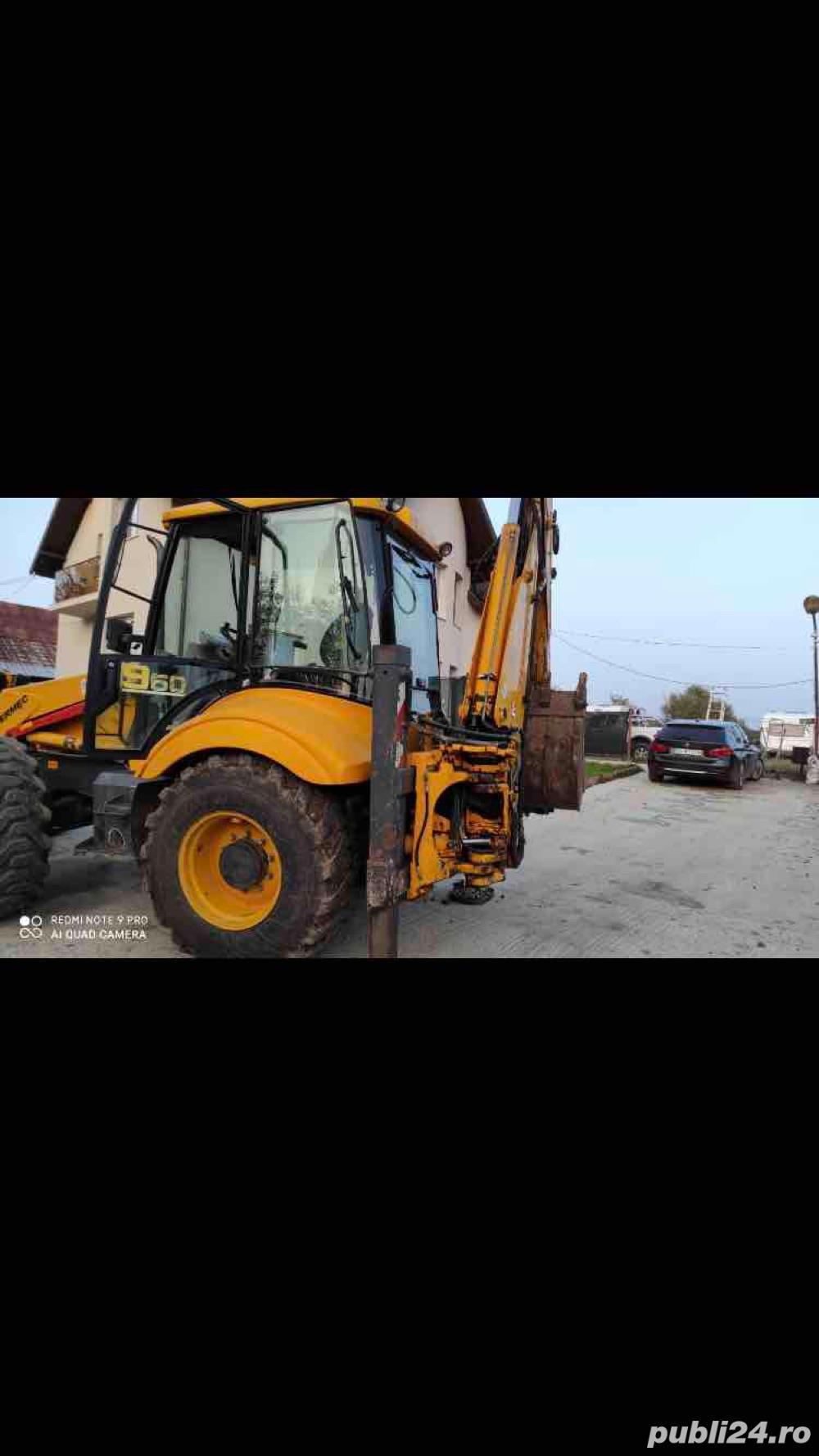 buldoexcavator de inchiriat