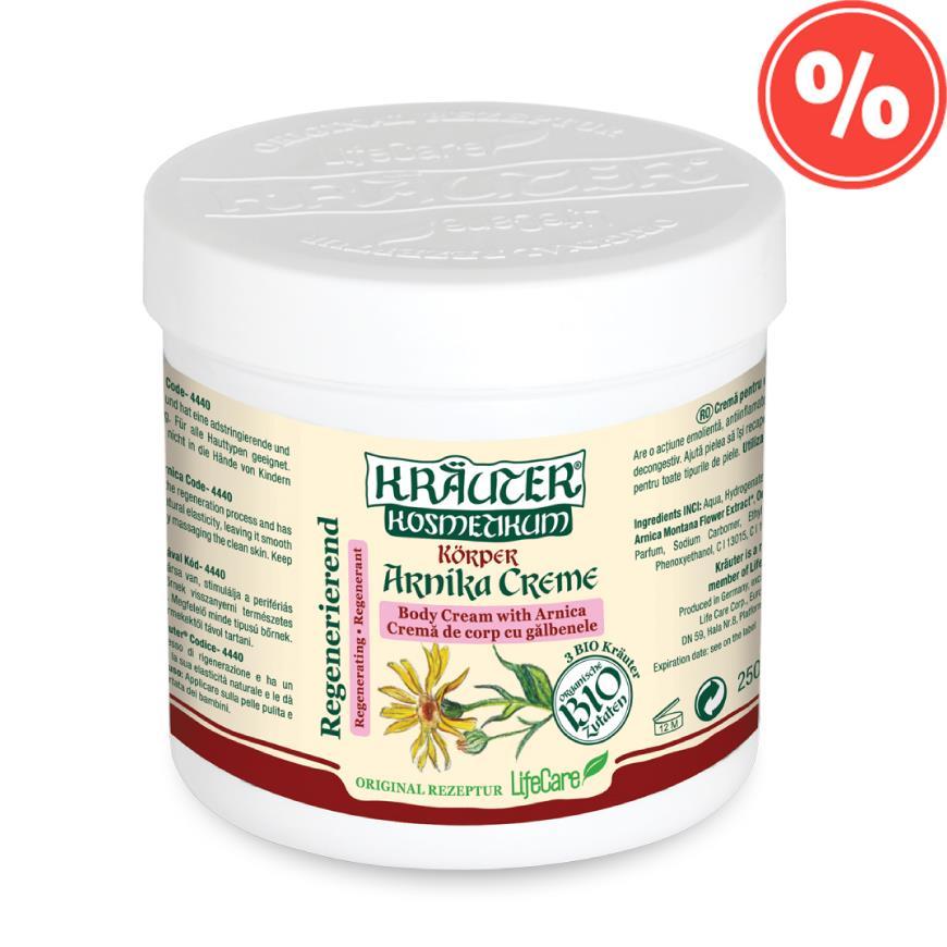 Crema de arnica pentru flebita varice 250 ml