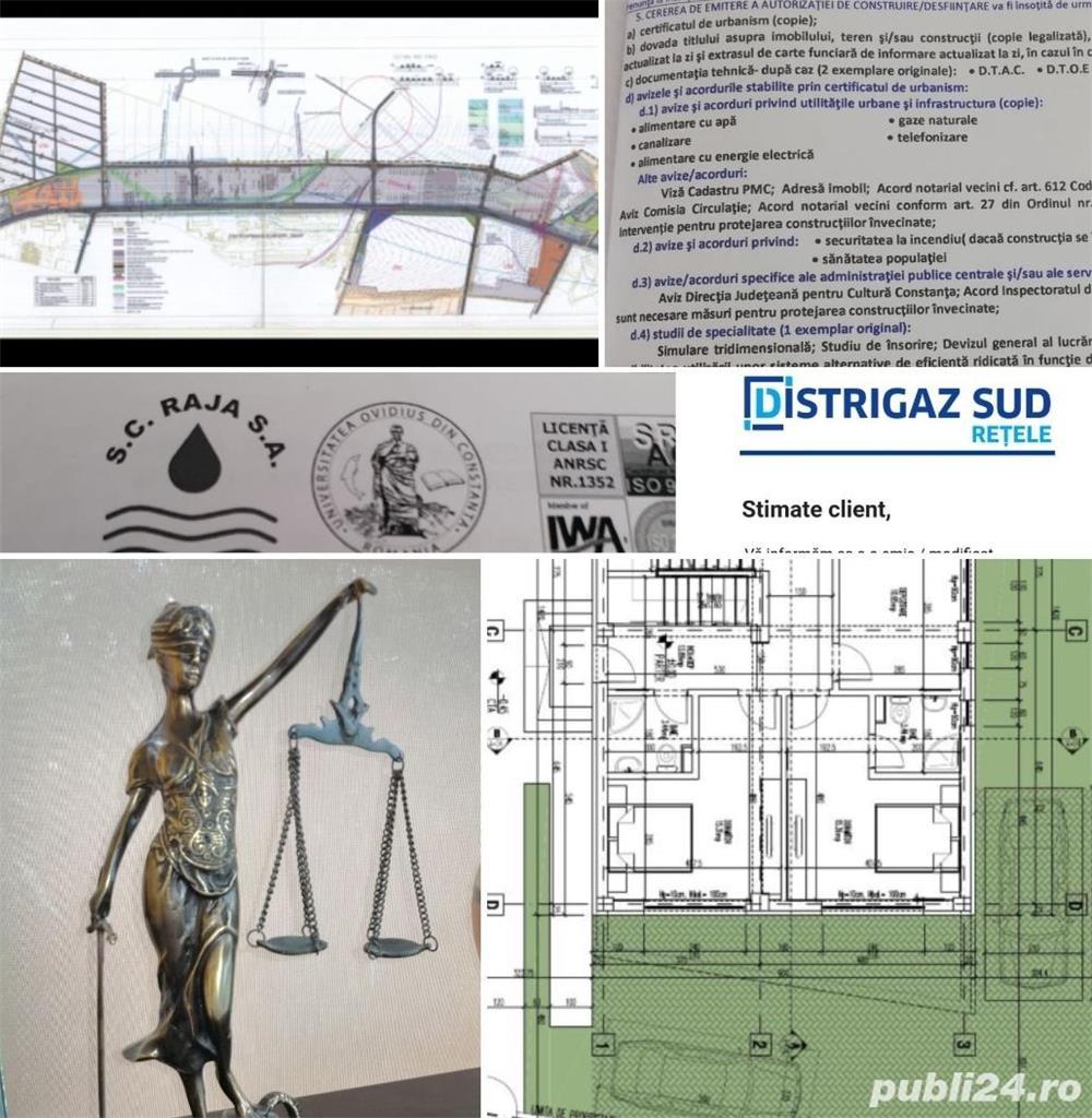 Soluționari de Certificat de Urbanism, Avize, Acorduri si Autorizatii