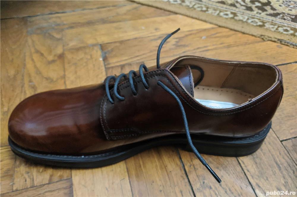 Pantofi piele Carlo Comberti