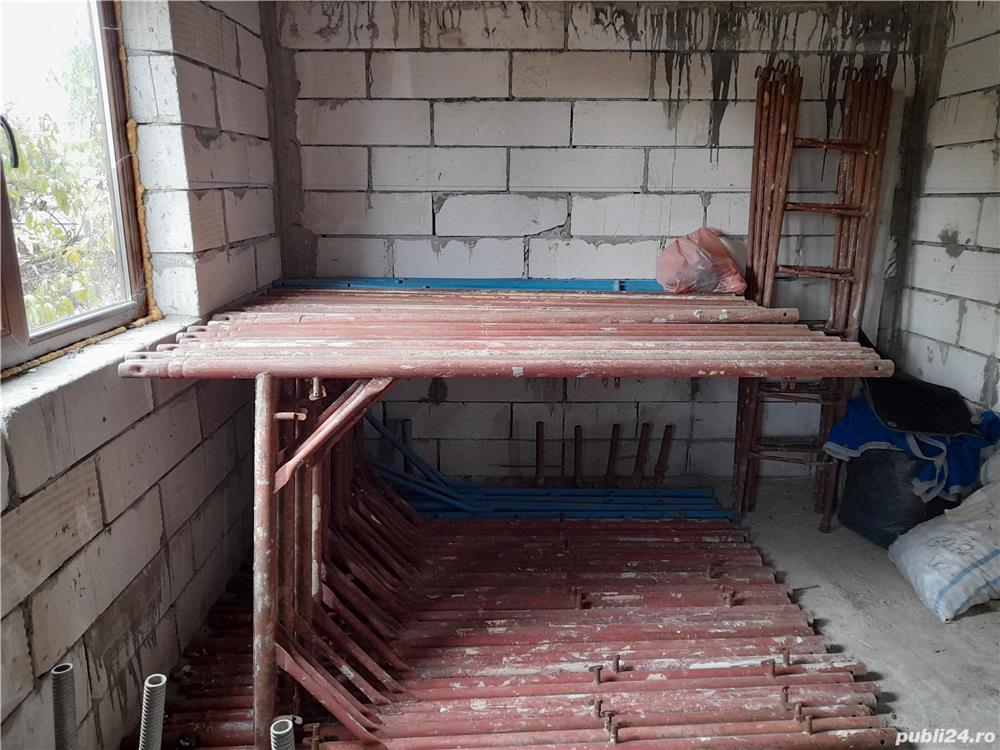 De închiriat schelă de construcție,betonieră.Transport materiale de construcție,nisip,balast.
