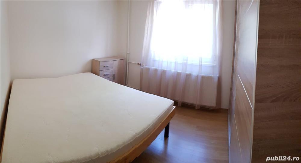 Inchiriez apartament 2 camere, semidecomandat, zona Modern