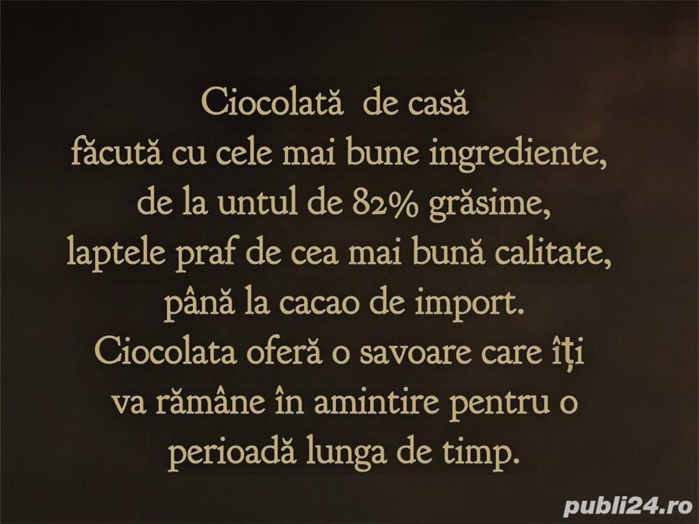 Ciocolata de casa si praline