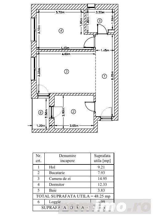 Apartament cu 2 camere de vanzare Titan Parcul Teilor birou vanzari comision 0%