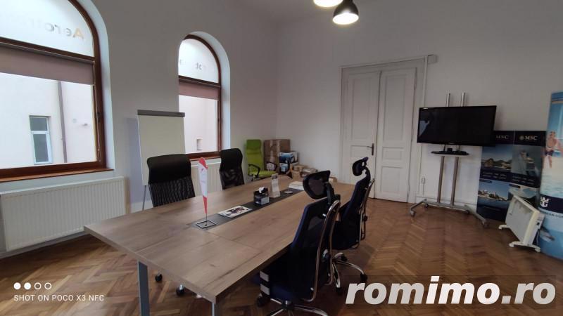 Spatiu birou elegant 160 mp + curte proprie, in Gruia, foarte aproape de centru