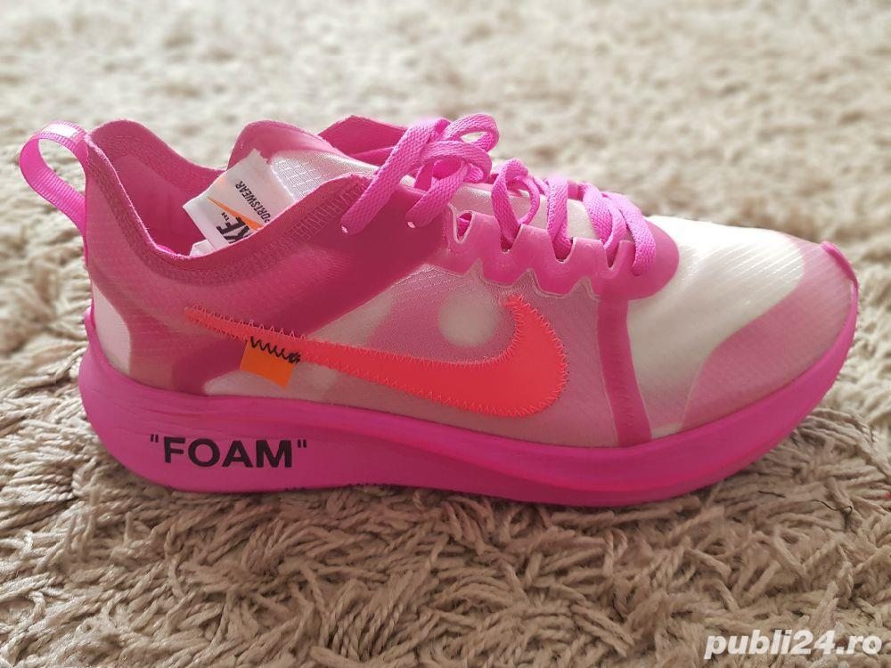Nike Zoom Fly Off-White Pink