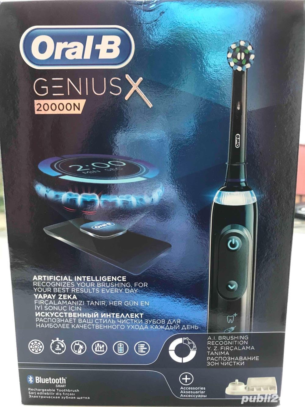 Periuta electrica Genius X 20000N Noua