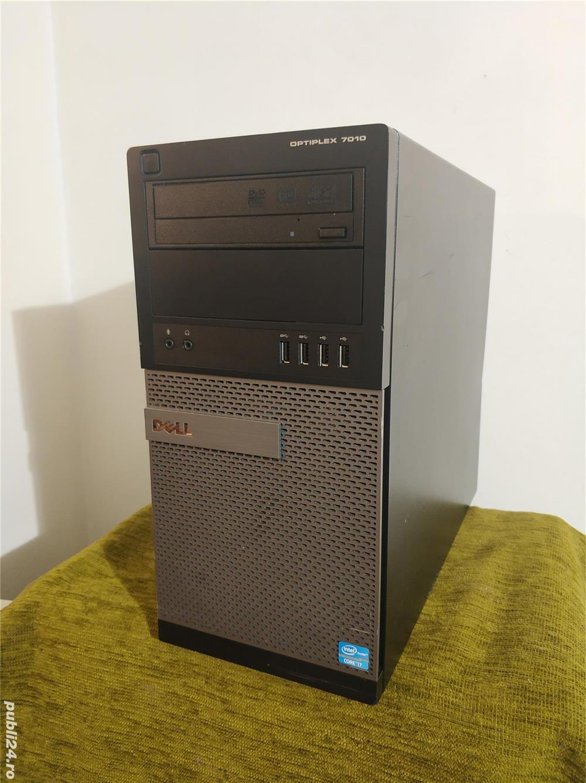 Pc Dell optiplex 7010, procesor Intel i7 3770, RAM 8GB DDR3, Hdd 750 gb