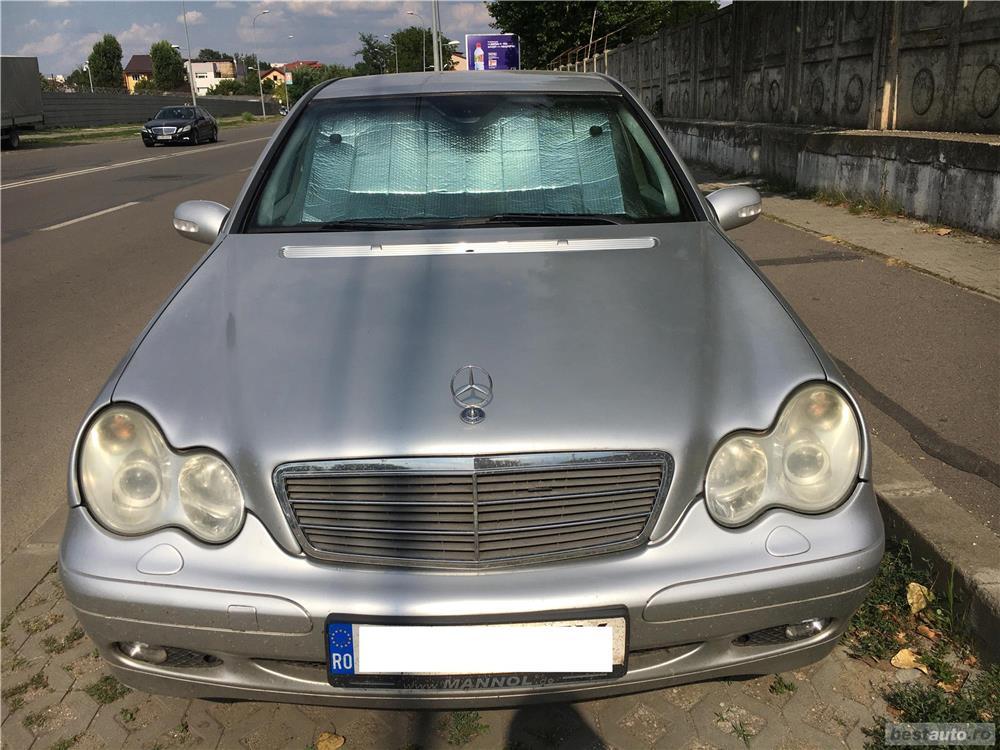 Mercedes-benz Clasa C C220 (schimb cu autorulota, camper, van)