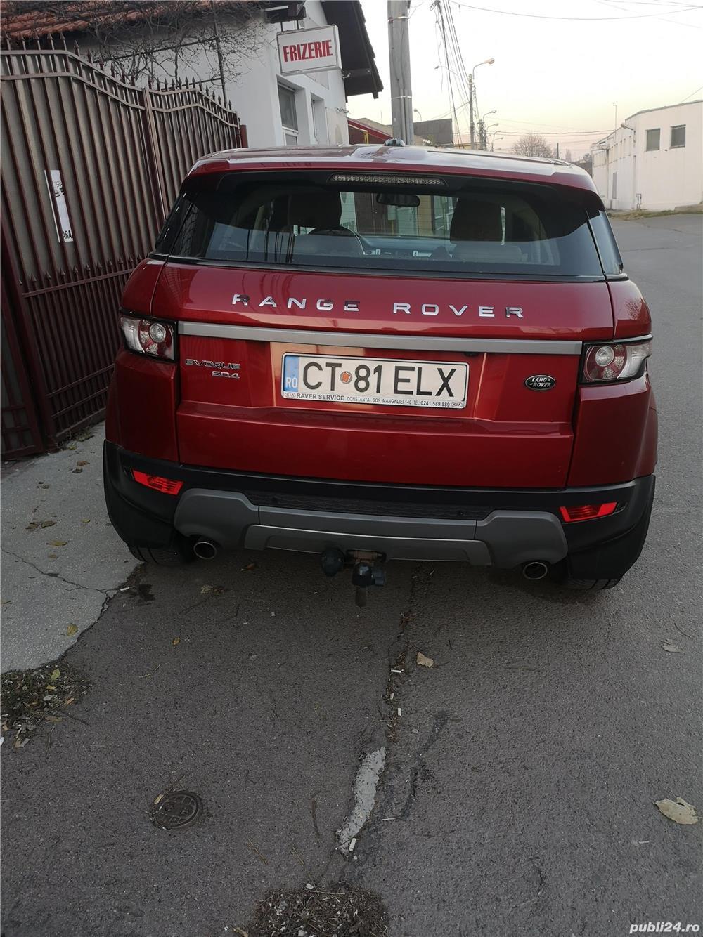 Land Rover Range Rover EVOQUE - 2013  -  4 X 4 PERMANENT