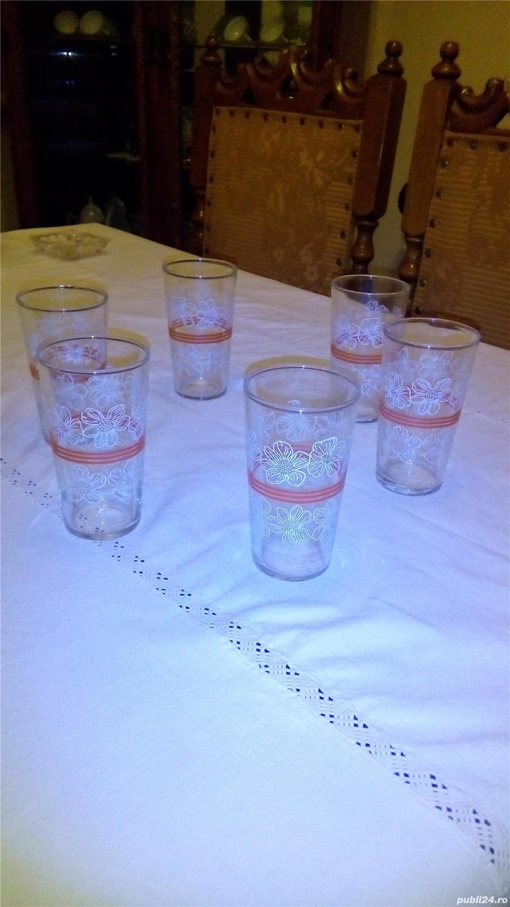 Pahare din sticla