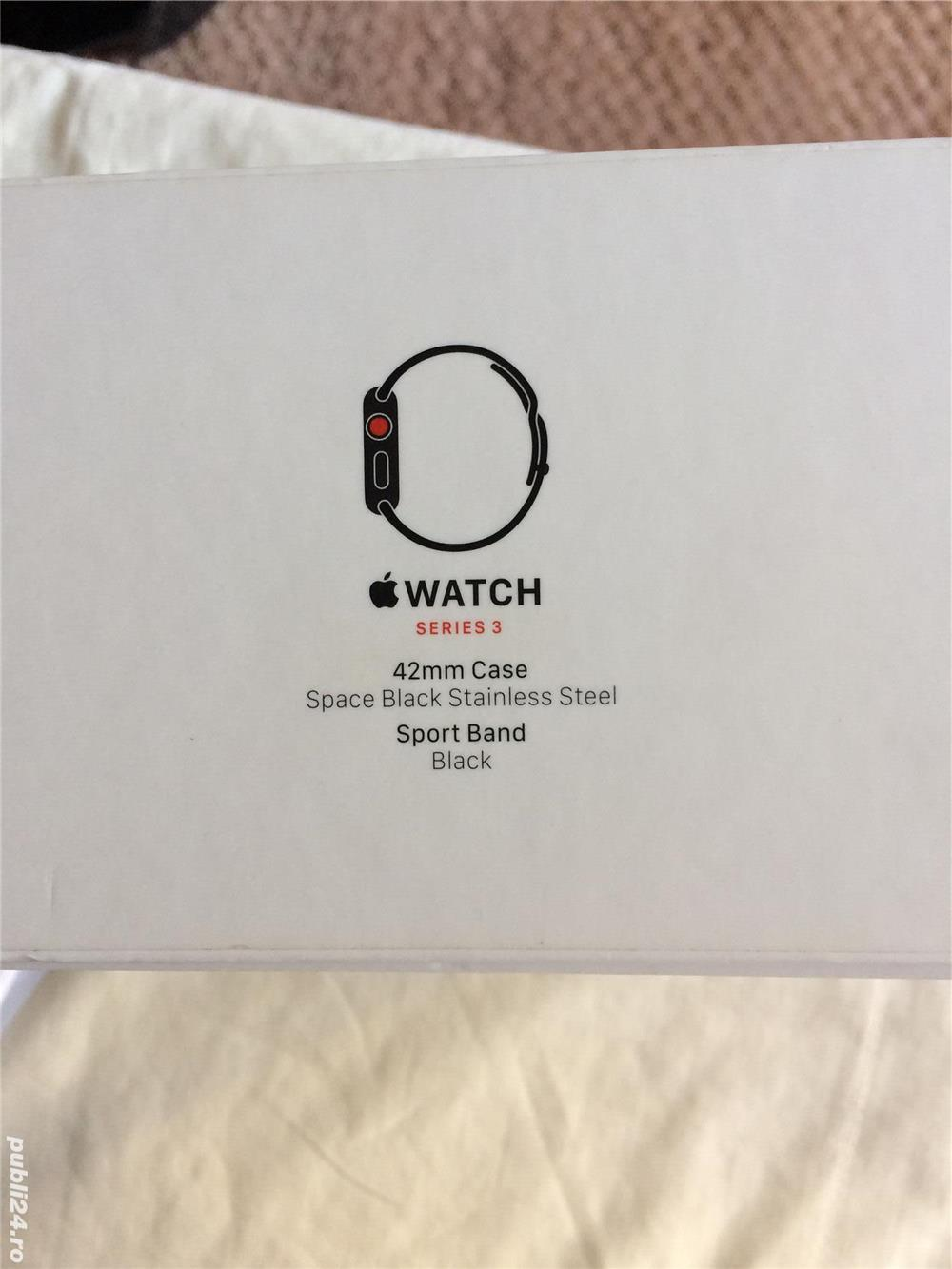 Apple Watch 3,42mm GPS+Cellular, stainless