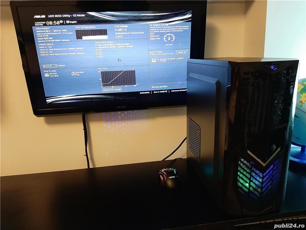 Unitate Pc Gaming AMD A10 7870K+8Gb DDR3+SSD 120Gb+GTX 680 2Gb DDR5