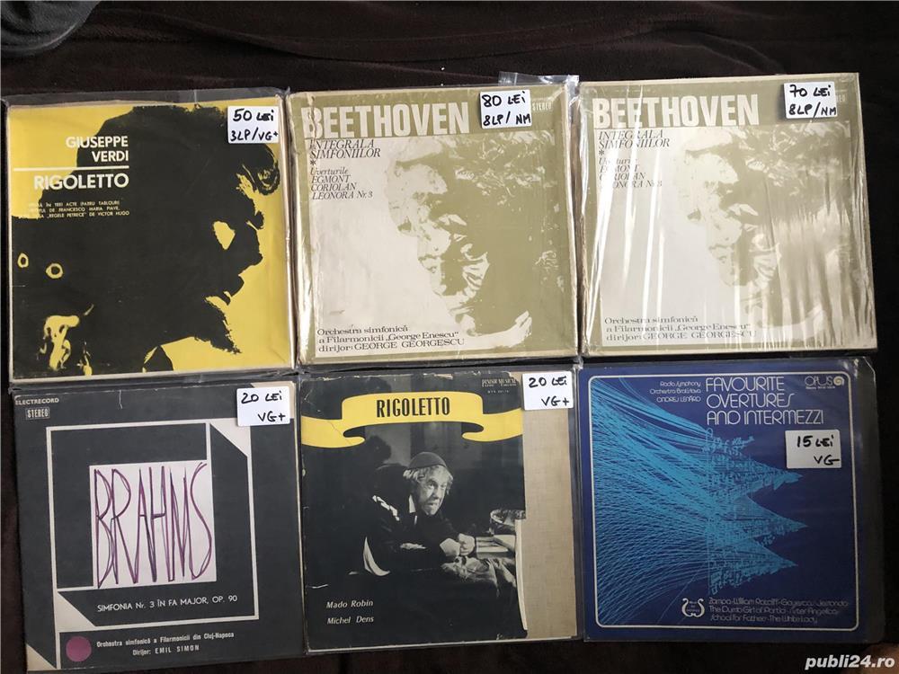 Discuri Vinyl LP Muzica Clasica Diverse Vinil Placi Pick-Up Picap