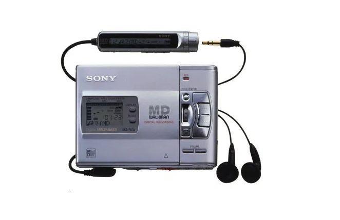 Sony MZ-R50 -Walkman Minidisc player - recorder portabil