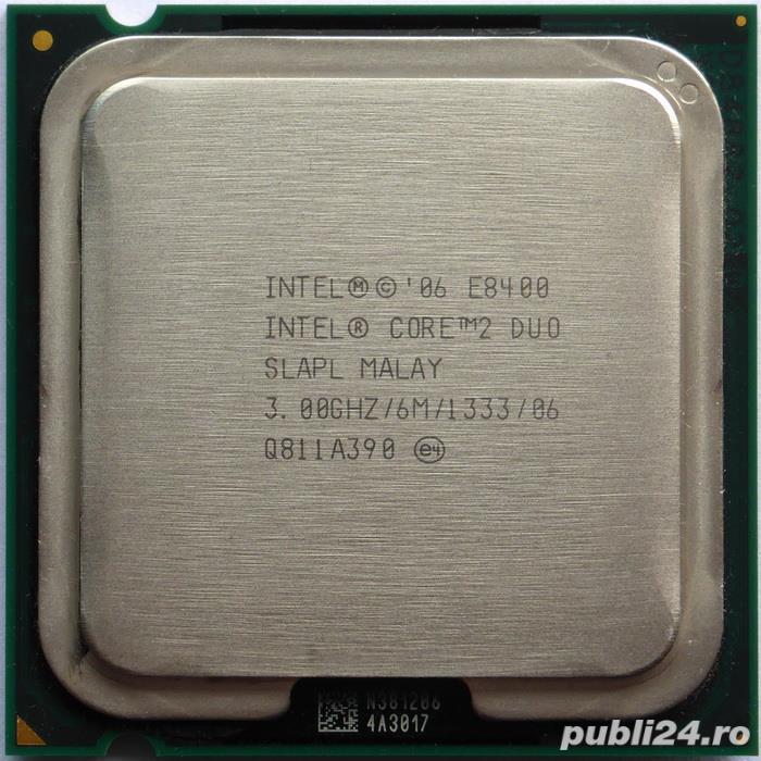 Ieftin ! procesor 775, E8400