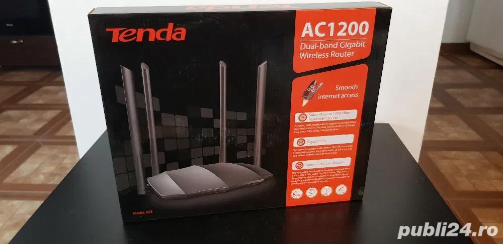 Vand Review router Tenda AC8