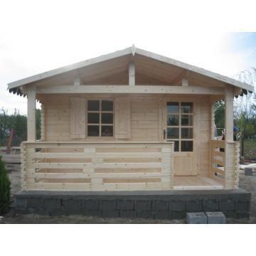 Cabane, căsuțe de lemn, la prețuri accesibile