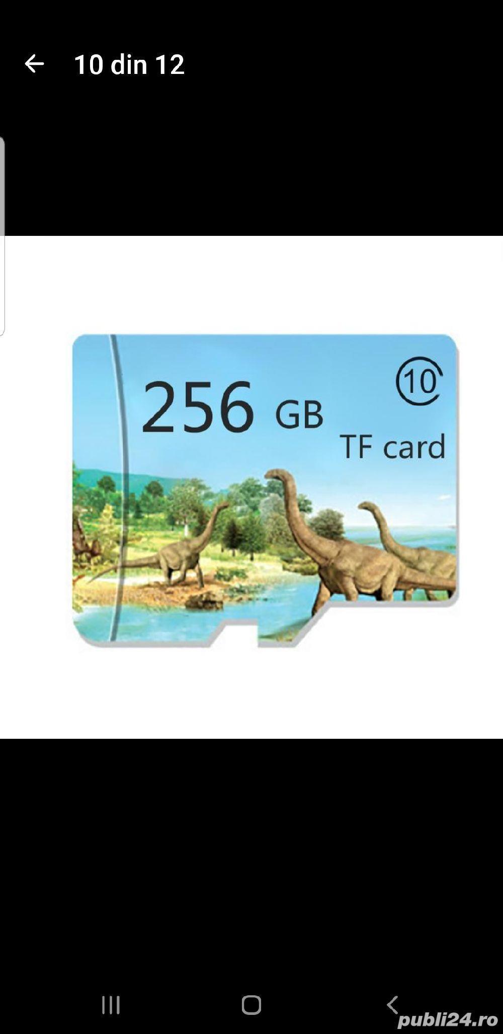 Vand card micro SD, nou, marca TF, 256 Gb