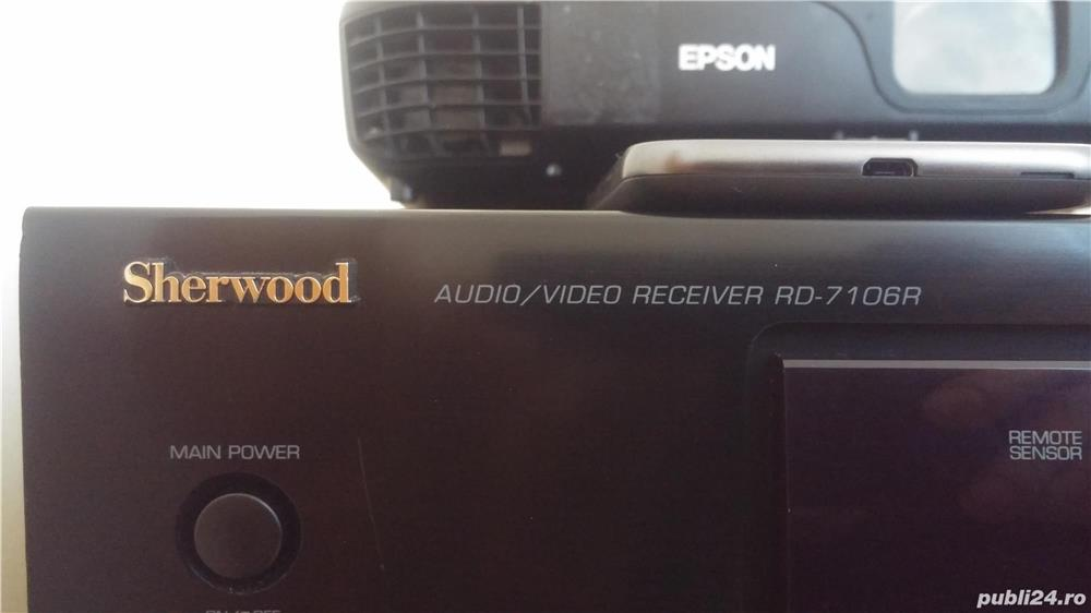 Recevier audio video