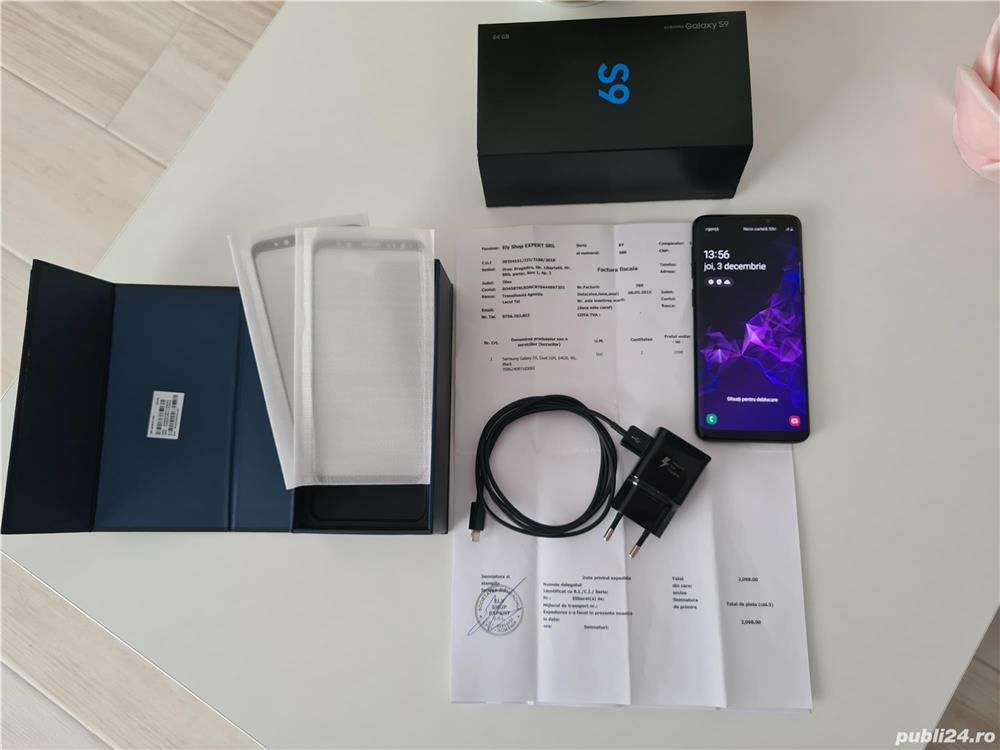 Galaxy S9 64GB Midnight Black Factura GARANTIE
