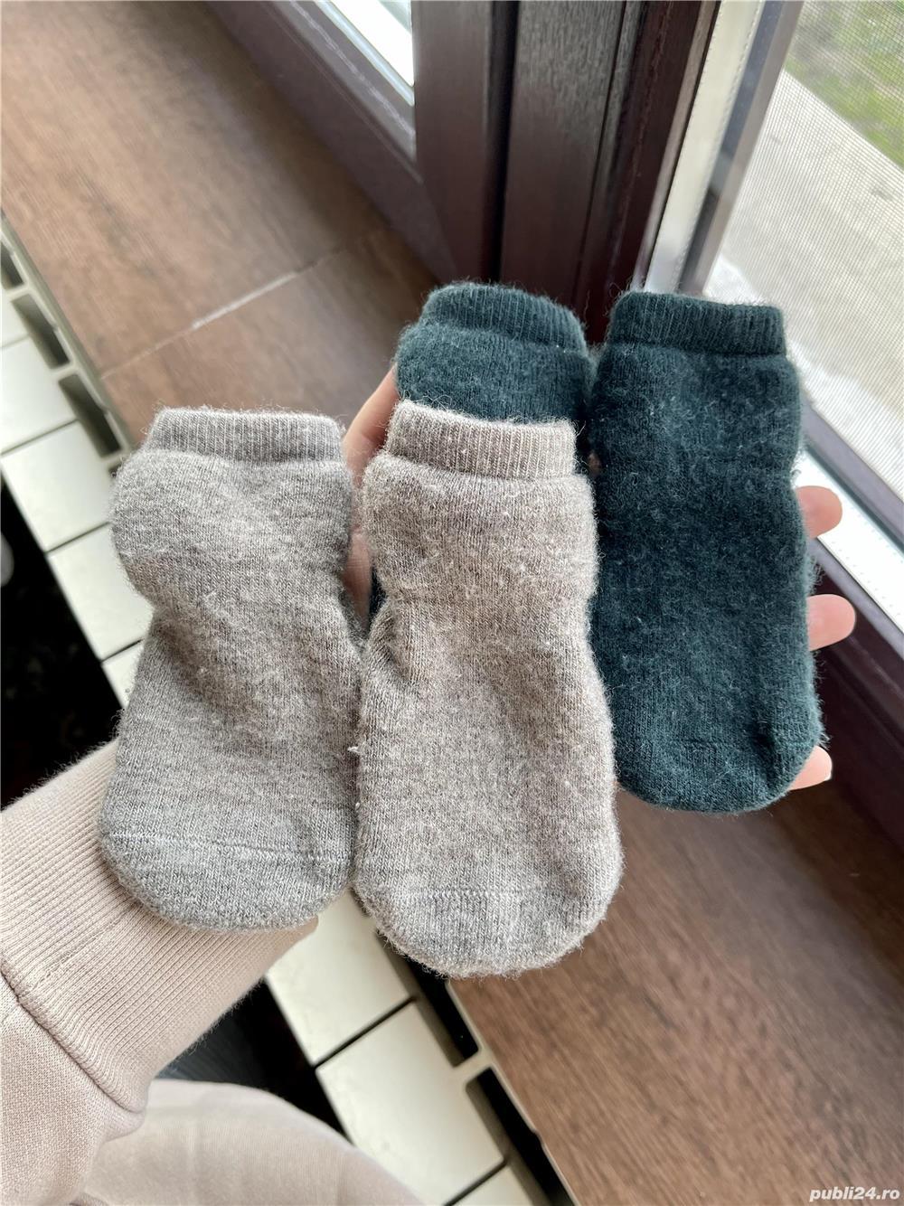 Șosete-papuci groase mp Denmark lână merinos