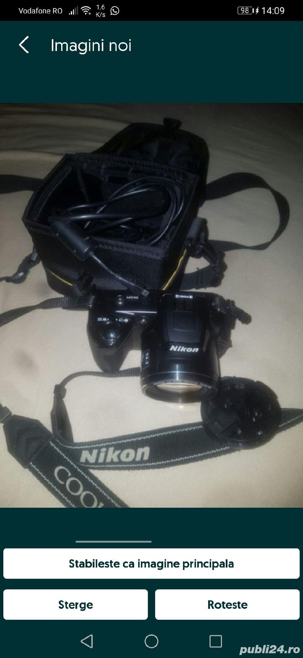 Aparat foto digital Nikon Coolpix L110, Negru