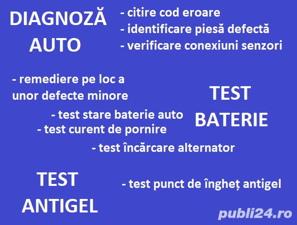 Diagnoza Auto Test Incarcare Alternator Test Auto Test Stare Baterie Test Antigel