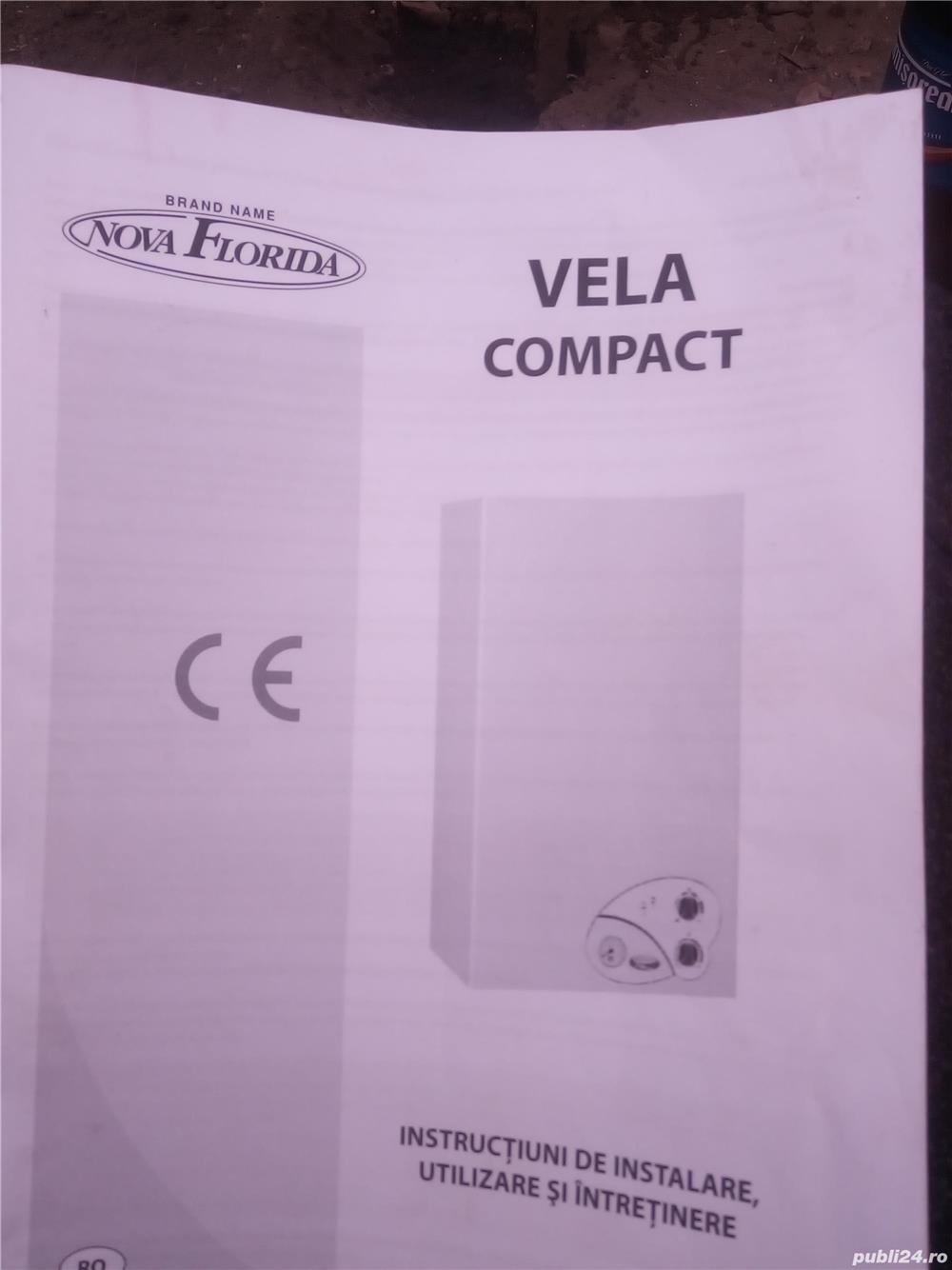 Centrala termica pe gaz Vela Compact