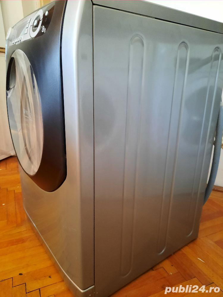 Vand masina de spălat  Ariston 8kg gri