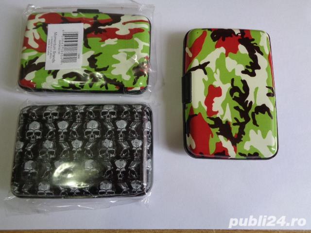 wallet(portofel alumini_port card)ptr.securitatea cardurilor