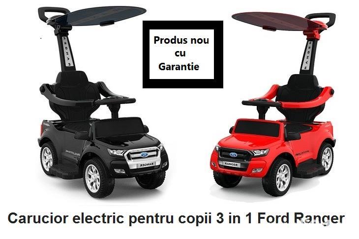 Carucior electric pentru copii 3 in 1 Ford Ranger
