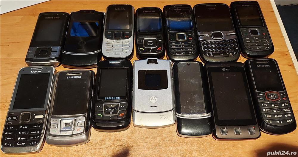 Lot 14 telefoane pt. piese Nokia Motorola LG