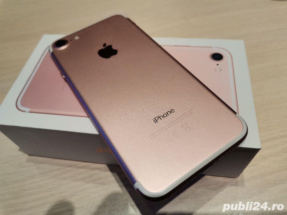 Iphone 7, 32gb, Rose Gold, liber de retea, baterie 90% , garantie 1 an