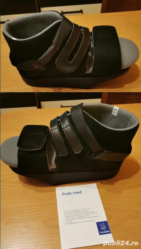 Papuc/Pantof Barouk - orteza medicala picior drept, marime 41-43