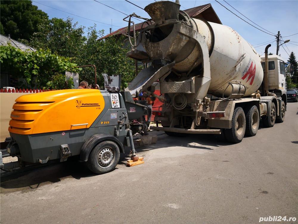 Pompa beton Putzmeister